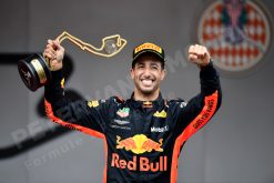 Daniel Ricciardo - Red Bull Racing Winnaar van de GP van Monaco - Monte Carlo Formule 1 Seizoen 2018