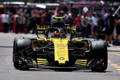 Carlos Sainz - Renault in Actie tijdens de GP van Monaco - Monte Carlo Formule 1 Seizoen 2018