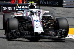 Sergey Sirotkin - Williams in Actie tijdens de GP van Monaco - Monte Carlo Formule 1 Seizoen 2018