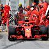 Kimi Raikkonen Ferrari GP Canada 2018 als Poster