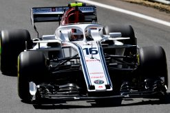 Charles Leclerc Actie - GP Engeland 2018