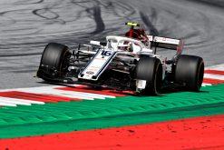 Charles Leclerc Actie - GP Oostenrijk 2018