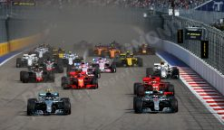 Valtteri Bottas Start GP Rusland