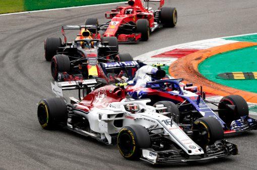 Charles Leclerc GP Italie 2018