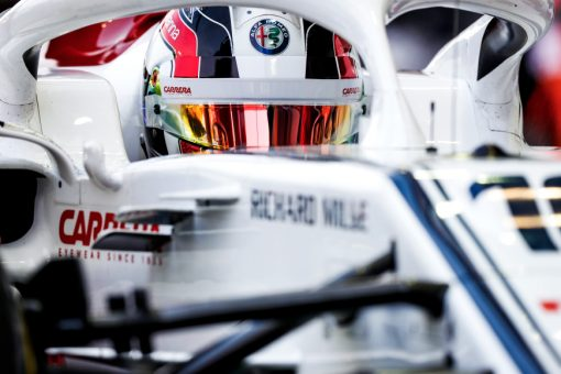 Charles Leclerc Helm - Singapore 2018