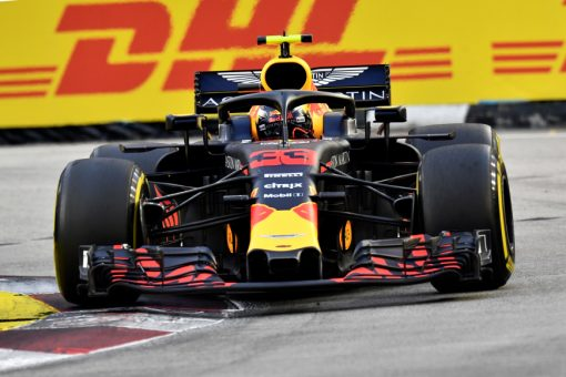 Max Verstappen, Red Bull Racing GP Singapore als Poster
