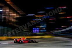 Max Verstappen Red Bull Racing GP Singapore 2018 als Poster