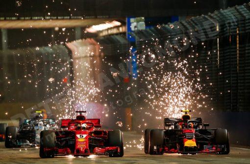 Sebastian Vettel Start 2018