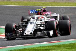 Charles Leclerc GP Japan 2018