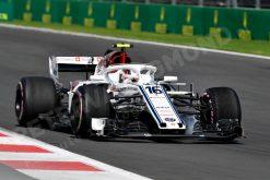 Charles Leclerc GP Mexico 2018