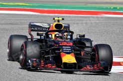 Poster Max Verstappen GP Amerika Formule 1 Seizoen 2018