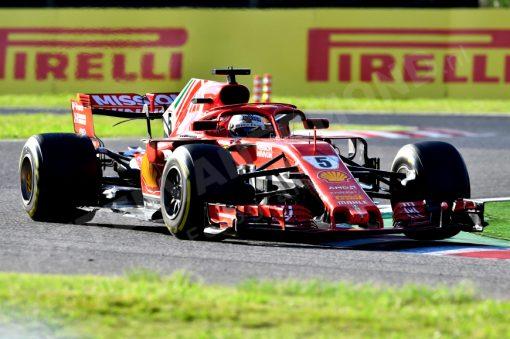 Sebastian Vettel GP Japan 2018