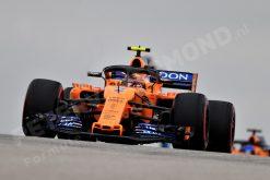 Poster Stoffel Vandoorne GP Amerika Formule 1 Seizoen 2018