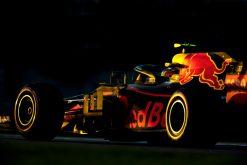 Max Verstappen Red Bull Racing GP Abu Dhabi 2018 als Poster