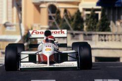 Alex Caffi Footwork foto 1991