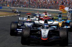Kimi Raikkonen McLaren Frankrijk