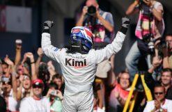 Kimi Raikkonen McLaren Turkije