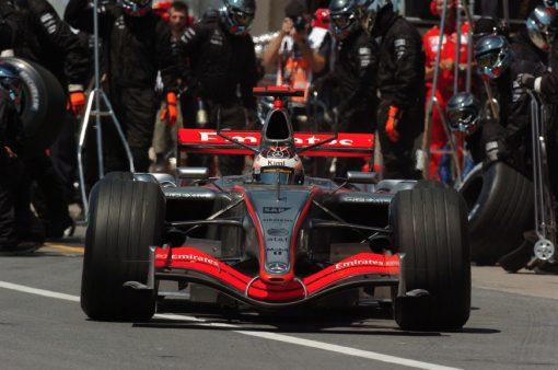 Kimi Raikkonen McLaren Canada