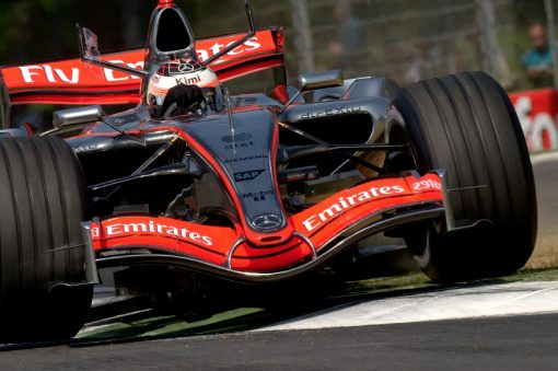 Kimi Raikkonen McLaren Imola