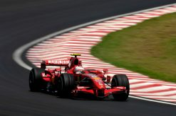Kimi Raikkonen Ferrari Brazilie