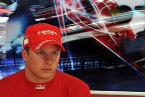 Kimi Raikkonen Ferrari Italie