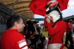 Kimi Raikkonen Ferrari Maleisie