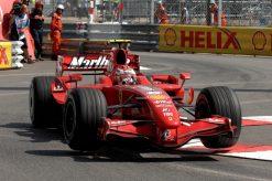 Kimi Raikkonen Ferrari Monaco