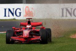 Kimi Raikkonen Ferrari 2008