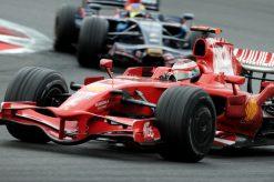 Kimi Raikkonen Ferrari Frankrijk