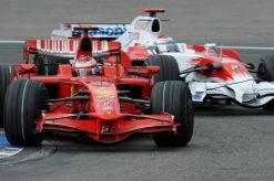 Kimi Raikkonen Ferrari Duitsland