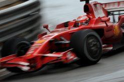 Kimi Raikkonen Ferrari Monaco Sfeer