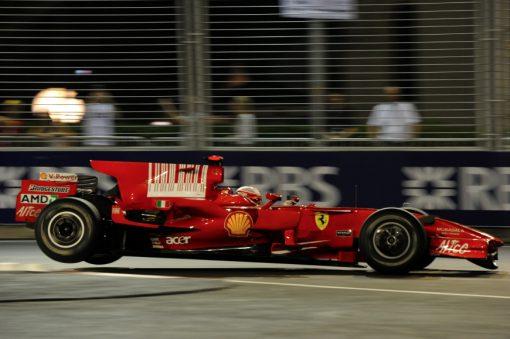 Kimi Raikkonen Ferrari Singapore