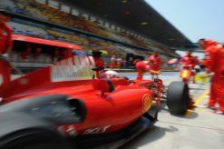 Kimi Raikkonen Ferrari Sfeer China