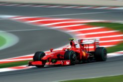 Kimi Raikkonen Ferrari Spanje