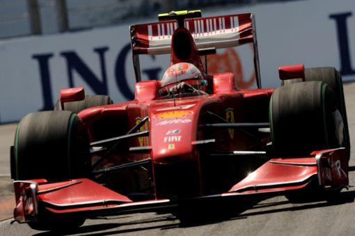 Kimi Raikkonen Ferrari Europa