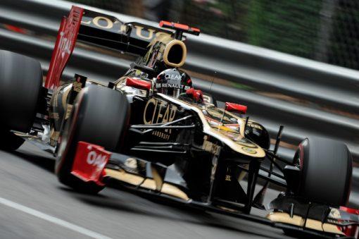 Kimi Raikkonen Lotus Monaco