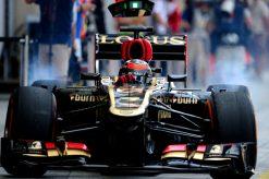 Kimi Raikkonen Lotus Bahrein