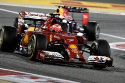 Kimi Raikkonen Ferrari Bahrein