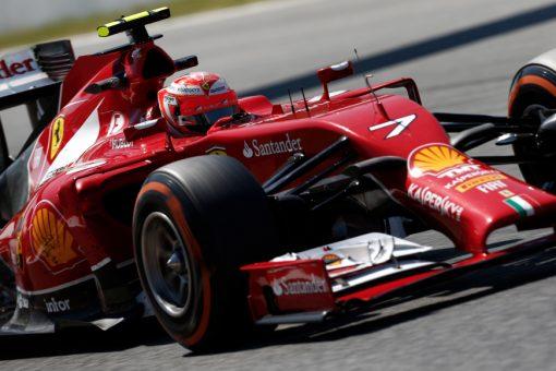 Kimi Raikkonen Spanje