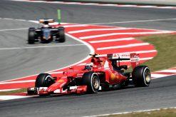 Kimi Raikkonen - Ferrari tijdens de Grand Prix van Spanje Formule 1-Seizoen 2015