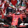 Kimi Raikkonen - Ferrari tijdens de Grand Prix van Hongarije Formule 1-Seizoen 2015