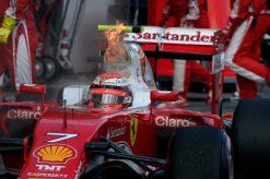 Kimi Raikkonen - Ferrari tijdens de Grand Prix van Australie 2016
