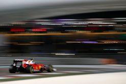 Kimi Raikkonen Ferrari Abu Dhabi 2016