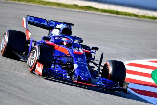 Daniil Kvyat, Toro Rosso, F1 Test Circuit de Catalunya 2019