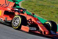 Sebastian Vettel, Ferrari, F1 Test Circuit de Catalunya 2019