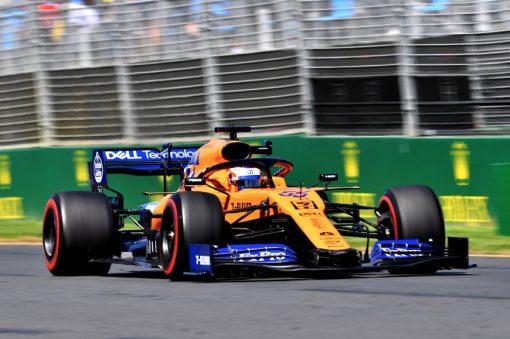 Carlos Sainz, McLaren tijdens de GP van Australie F1 Seizoen 2019