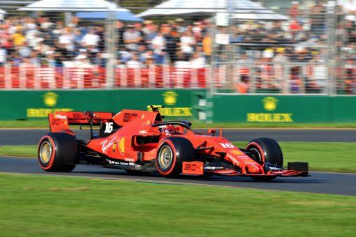 Charles Leclerc, Ferrari tijdens de GP van Australie F1 Seizoen 2019