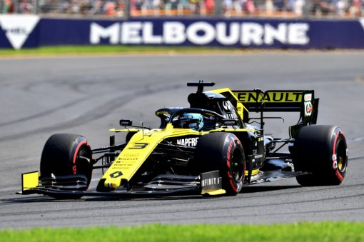 Daniel Ricciardo, Renault tijdens de GP van Australie F1 Seizoen 2019
