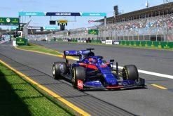Daniil Kvyat, Toro Rosso tijdens de GP van Australie F1 Seizoen 2019