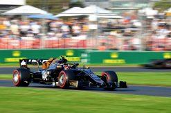Kevin Magnussen, Haas tijdens de GP van Australie F1 Seizoen 2019